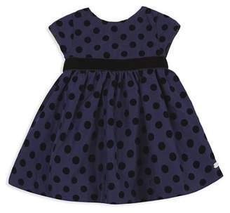 Tartine et Chocolat Girls' Structured Polka Dot Dress - Baby