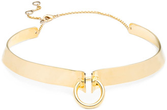 Alexis Bittar Lady O Small Collar Necklace