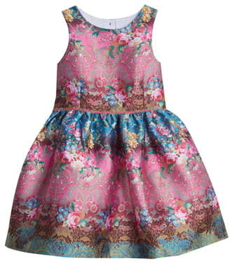 Pippa & Julie Floral Fit & Flare Party Dress