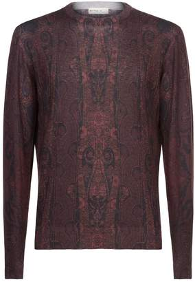 Etro Paisley Silk Cashmere Sweater