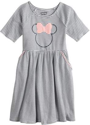 Disney's Minnie Mouse Girls 4-12 Striped Dress by Jumping Beans