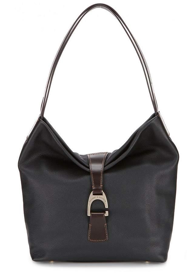 Dooney & Bourke Belvedere Collection Peter Hobo Bag - BLACK - STYLE