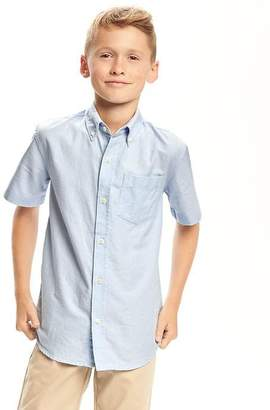 Old Navy Uniform Oxford Shirt for Boys