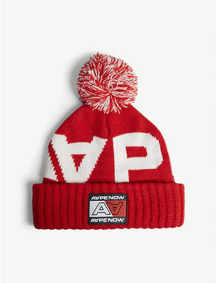 Aape Logo knitted hat