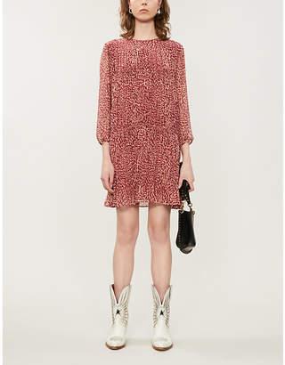 BA&SH Grace chiffon mini dress