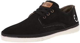 Natural World Men's Blucher Suede Low Lace-up