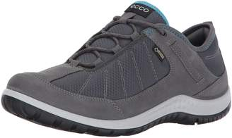 Ecco Women's Aspina Low Gore-Tex Textile Hiking Shoe, True Navy