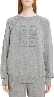 Givenchy Embossed Logo Cashmere Sweater