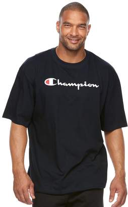 Champion Big & Tall Modern-Fit Logo Tee
