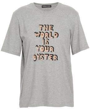 Markus Lupfer Embellished Stretch-Jersey T-Shirt