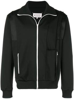 Maison Margiela paneled jersey track jacket