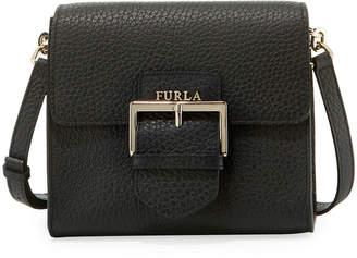 Furla Flo Small Leather Crossbody Bag