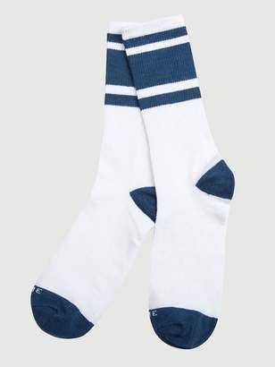 Frame Denim Varsity Sock Summer Navy