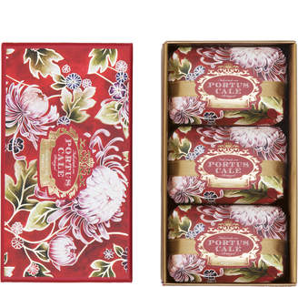 Portus Cale Noble Red Aromatic Soap 3-Piece Set