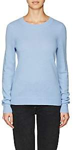 Barneys New York WOMEN'S CASHMERE SWEATER - BLUE SIZE XS