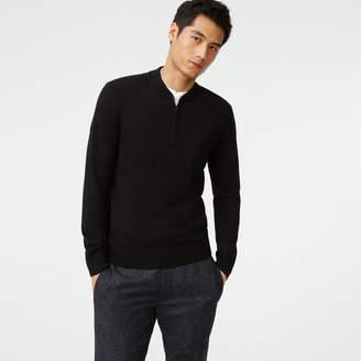 Club Monaco Merino Quarter-Zip Sweater