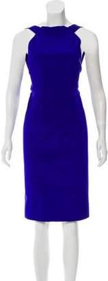 Dion Lee Silk Knee-Length Dress