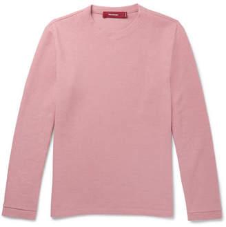 Sies Marjan Dale Ribbed Cotton-Blend Sweatshirt