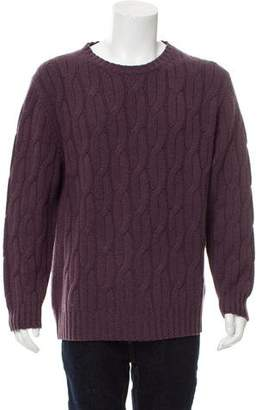 Kiton Cashmere Cable Knit Sweater