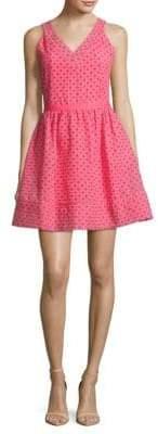 Maje Sleeveless V-Neck Dress