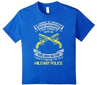 Own forever the title military police shirt