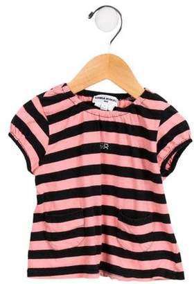Sonia Rykiel Girls' Embellished Striped Top