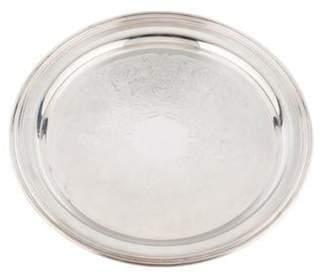Oneida Round Silverplate Tray Round Silverplate Tray