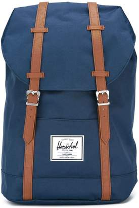 Herschel denim contrast strap backpack