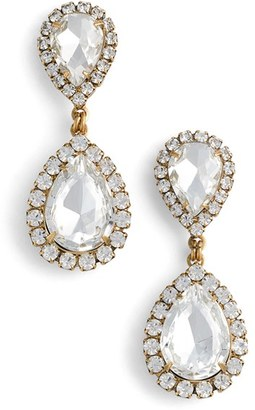 Women's Loren Hope Crystal Drop Earrings $78 thestylecure.com