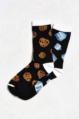 Urban Outfitters Milk And Cookies Sock