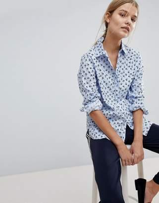 Max & Co. Max&Co Floral Cotton Shirt