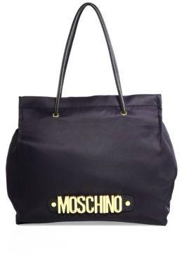Love MoschinoLove Moschino Signature Logo Nylon Tote