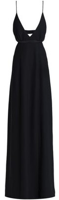 Alexander Wang Open-Back Crepe Gown