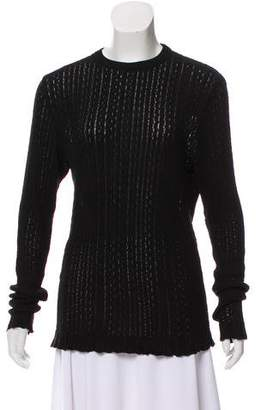 Gianni Versace Knit Crew Neck Sweater