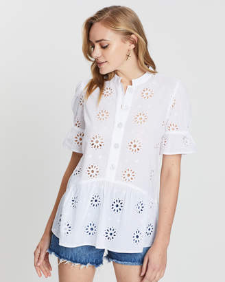 Miss Selfridge Embroidered Tunic