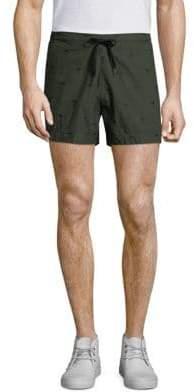 Tomas Maier Cotton Palm Shorts
