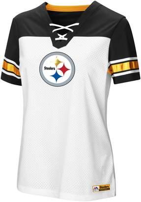 Majestic Women's Pittsburgh Steelers Draft Me Tee