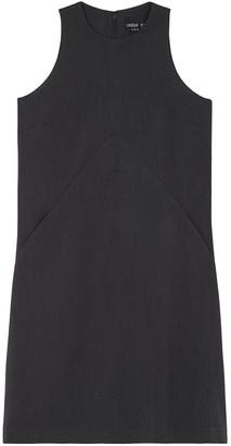Lindsay Nicholas New York Perfect Dress In Grey Petite