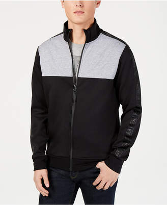 Kenneth Cole New York Men Zip-Front Colorblocked Jacket