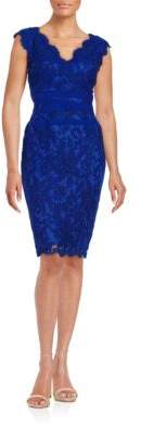 Tadashi Shoji Sleeveless Lace Dress $268 thestylecure.com
