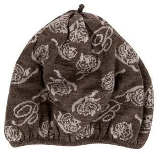 Blumarine Floral Patterned Hat