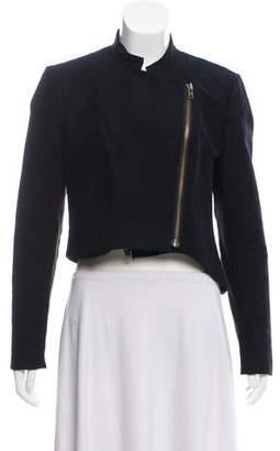 Helmut Lang Asymmetrical Crop Jacket