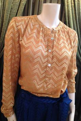 Laundry by Shelli Segal LOLLYS LAUNDRY Mustard/gold Blouse