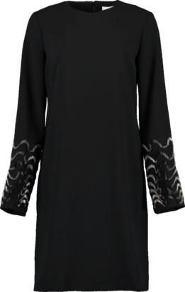Victoria Beckham VICTORIA Embellished Sleeve Shift Dress