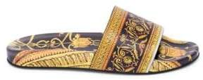 Versace Baroque Print Rubber Slides