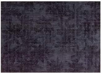 Calvin Klein urban - linen flower rug in indigo
