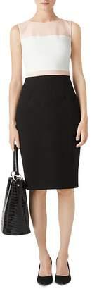 Hobbs London Leah Color-Block Sheath Dress
