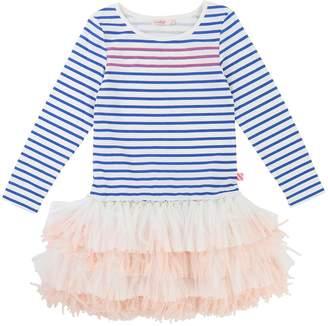 Billieblush Girls Stripe Jersey Tutu Dress