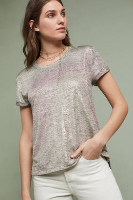 Deletta Shimmered Tee $58 thestylecure.com