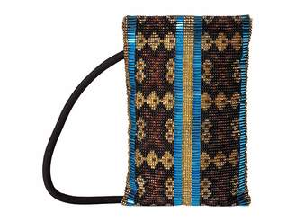 Elizabeth and James Seed Beads Pen Pal North/South Handbags